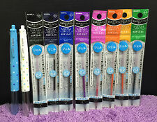 2x New 4 Color ZEBRA Prefill Pens + 8 Refills Japan Cute Dots Like Coleto Gifts