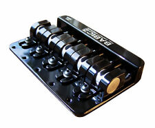 Babicz Full Contact Hardware FCH 5-String Bass Bridge:Chrome-Black-Gold In Stock