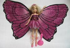 2007 Magic Mariposa Barbie Butterfly Fairy Fairytopia DRESS/WINGS/SHOES CLOTHES