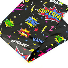 Superhero Table Cover Tablecloth Birthday Party BBQ Child Foil 120X180cm Picnic