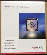 McAfee Virus Scan Suite V4.5 Small Buisness Edition SVS45E New In Sealed Box