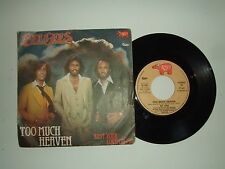 "Bee Gees ‎/ Too Much Heaven - Disco Vinile 45 Giri 7"" Stampa Italia 1979"