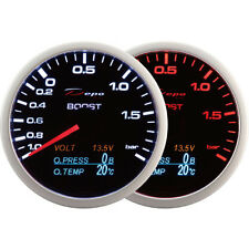 DEPO Racing 60mm. Boost Turbo volt oil pressure and oil temperature gauge 4 in 1