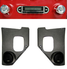 1955-1959 Chevy Truck  Radio & Kick Panels w/ Speakers AUX Cable Stereo 230