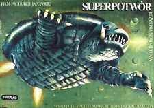 Gamera Super Monster Poster 02 Metal Sign A4 12x8 Aluminium