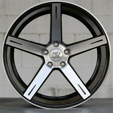 "20"" 5X112 BLACK WHEELS FITS MERCEDES BENZ AMG W164 W166 ML350 ML550 ML63 4MATIC"