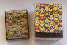 Japanese Pokemon, Team Skull Villainous Pikachu Deck Case & 64 Sleeves Sealed
