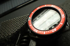 THE.ULTRA.CLASSIC ORANGE-RED B.INSERT F.SEIKO.007/VOSTOK LUME DOT Z-09-LR