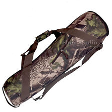"Camouflage 80cm Camera Tripod Carry Bag Travel Case 31.4"" Fits Manfrotto Velbon!"