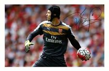 PETR CECH - ARSENAL AUTOGRAPHED SIGNED A4 PP POSTER PHOTO