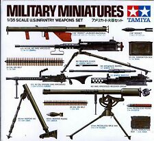 Tamiya 1/35 35121 WWII US Infantry Weapons Set (Military Miniatures)