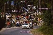 Timo Salonen Peugeot 205 Turbo 16 Winner Portugal Rally 1985 Photograph