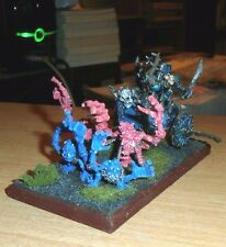 1 Painted Warhammer Chaos ROUGE TRADER ERA Chariot Metal 4 PINK HORRORS PULLING