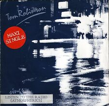 """TOM ROBINSON listen to the radio/any favours/out to lunch NIC 3 uk 7"""" PS EX/VG"""