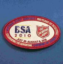 2010 National BSA Jamboree Salvation Army Patch