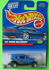 Hot Wheels '32 1932 Ford Delivery Truck Blue Collector #996 Lace 1999 MOC 23806