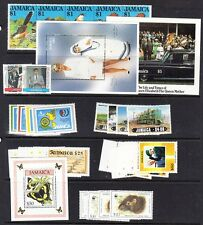 Jamaica 10 Modern items Mint NH (Catalog Value $80.90)