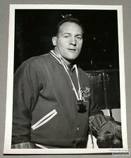 Original Early 60's Floyd Curry Mtl Canadiens Photo