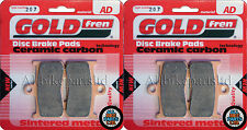 Triumph 1050 Tiger Front Sintered Brake Pads 2011 - Goldfren
