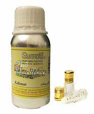 Kalimat by Surrati - 3ml Itr Attar Oil Based Perfume - Kalemat Oud Oudh