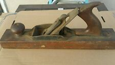 Vintage Antique Wood Block Plane Carpentry Planer Hand Tool 15""