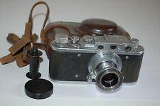 Zorki 1 Type C Vintage Soviet Rangefinder Camera With Case & Cap 1954. No.449909