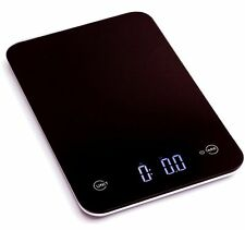 Ozeri Touch II Professional Digital Kitchen Scale Tempered Glass in Elegant Blac