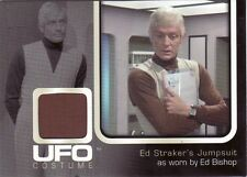 Ufo série tv rare ed bishop comme le capitaine ed straker UC001 costume carte