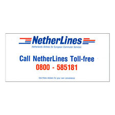 Netherlines Airlines - Airline Timetable - Good Condition