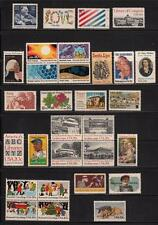 1982 US  COMMEMORATIVE YEAR SET 30 STAMPS MINT NH
