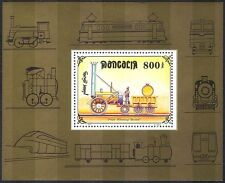 Mongolia 1997 Steam Engine/Rocket/Trains/Railways/Rail/Transport 1v m/s (s718)