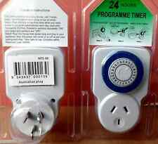 Electric Timer,  24 Hrs. Cycle, for domestic appliances.