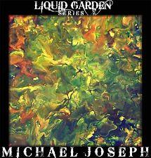 Modern Abstract Art original painting by Michael Joseph liquid garden Landscape