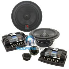 "DIAMOND AUDIO H600S PRO 6.5"" HEX COMPONENT SPEAKERS SILK TWEETERS CROSSOVERS NEW"