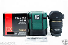 Sigma 20mm F/1.8 EX DG Lens SA Mount for Sigma SD9 SD10 SD14 SD15 SD1 (#9094)