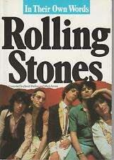 ROLLING STONES IN THEIR OWN WORDS DALTON FARREN + PARIS POSTER GUIDE Eng