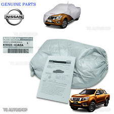 Fit Nissan Navara Np300 4Dr D23 2015 2016 Genuine Silver Polyester Car Cover