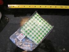 Fisher Price Fun Food kitchen table cloth tablecloth green picnic stove magic