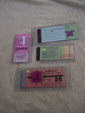 Disney World vintage '76  '79- COMPLETE --- '77 DISNEYLAND 11 TICKET - COMPLETE