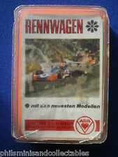 ASS Top Trumps ' Rennwagen  '  Germany  c 1977