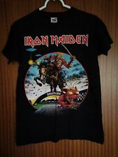 Iron Maiden vintage tour t-shirt Donington 2013 Download heavy metal Eddie small