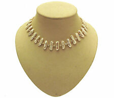 Fresh Water Pearl Necklace cream Necklace with crystal