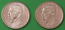 2013 US Theodore Roosevelt Presidential Dollar Set One P&One D From Mint Rolls