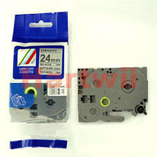 Brother TZ-M951 Compatible P-Touch Label Tape Black on Silvery 24mm 8m TZe-m951