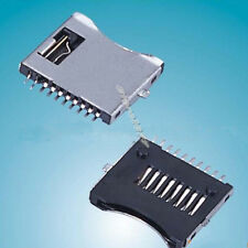 20pcs TF Micro SD Memory Card Socket Slot 10Pin Connector s682