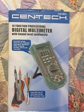 Cen-tech 14 Function Digital Multimeter 98674 New In Box