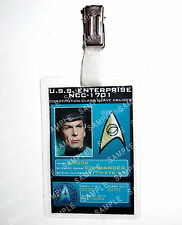 Star Trek Original Series Spock ID Badge Cosplay Costume Christmas