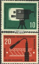 DDR 861-862 (kompl.Ausgabe) postfrisch 1961 Fernsehkamera EUR 2,20