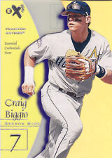 1998 EX Essential Credentials Craig Biggio /34