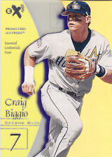 1998 EX Essential Credentials Craig Biggio /34